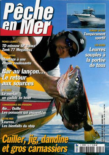Maigre en couverture Pêche en Mer 258
