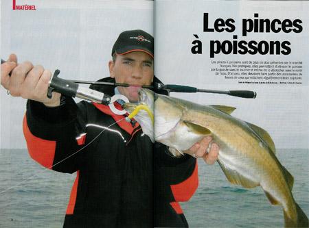 Pinces à poisson : fish grip (boca...)