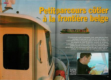 Petit parcours côtier à la frontière belge