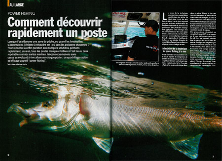 Power fishing - prospection rapide