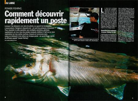 Power fishing - prospection rapide