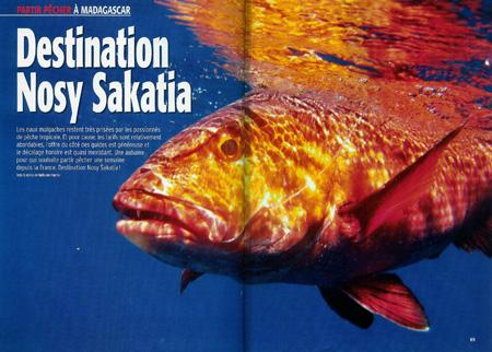 Pêche exotique à Nosy Sakatia, Madagascar