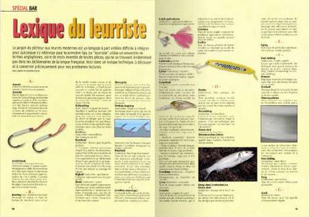 Pêche en mer : Lexique du leurriste