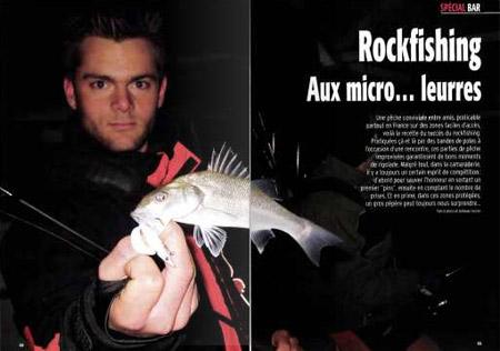 Rockfishing - Aux micro leurres