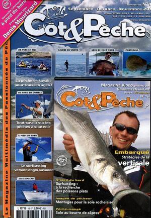 Côt&Pêche - Stratégies  de pêche à la verticale (aux leurres souples)
