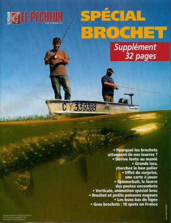 Pêcheur de France - couverture Brochet