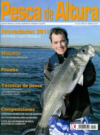 Gros bar sur cette couverture de Pesca de Altura