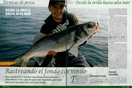 Solo Pesca 206 - Rastreando el fondo con vinilo